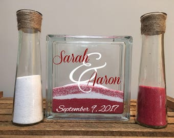 Unity Sand Ceremony Set/Wedding Sand Ceremony Set/Wedding Ceremony Set/Unity Sand Set/Sand Ceremony Set/Unity Ceremony/Unity Sand Set of 3