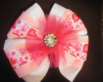 Pink Bow Lots of Love