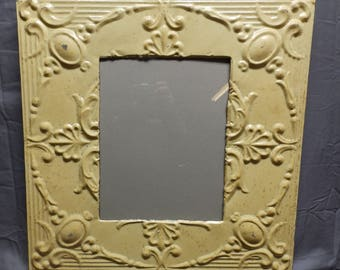 TIN CEILING Metal Picture Frame Butterscotch 11x14  Recycled Chic 36-18P