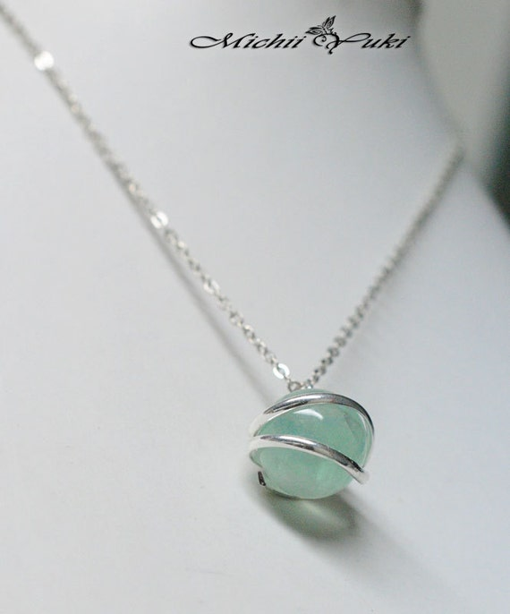 Final fantasy vii inspired holy materia necklace mozeypictures Choice Image