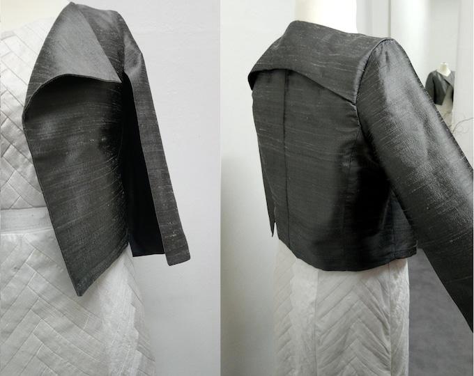 Bolero silk open sleeves shoulder warmers color choice