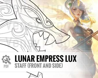 Lunar Empress Lux - Staff - DIY Cosplay League of Legends