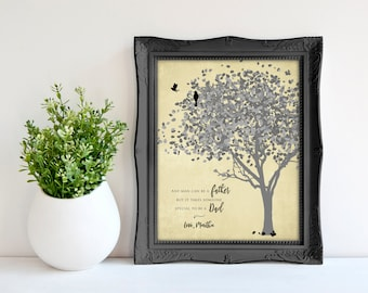 Father Wedding Gift - Father Of The Bride Gift - Dad Wedding Gift - Daughter Father Wedding Poem - Wedding Gift For Dad 8 x 10 print