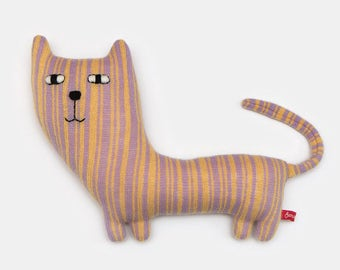 Maeve the Cat Lambswool Plush Toy - Made to order