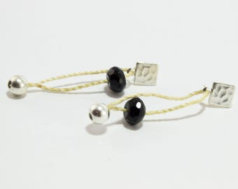Handmade Onyx Earrings luxe