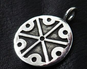 Silver Perun pendant