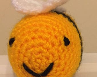 Bumble bee amigurumi crochet toy - Made to order