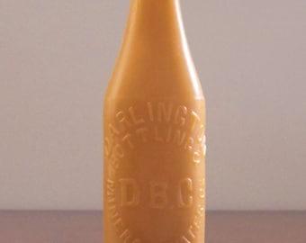 Darlington Bottling Company Beeswax Candle