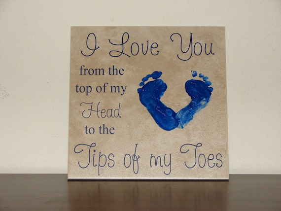 I Love You From The Top Of My Head To The Tips Of My Toes