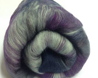 Carded fibre Batt for spinning and felting Art batt Merino wool Spinning fiber 50g (1.95 oz)