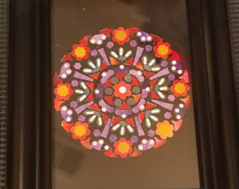Rose window collage