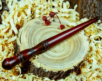 Nostepinne Woolwinder Winding for spinning for yarn Siberian Cedar #KL6