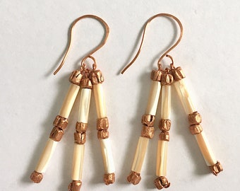 Contentment Earrings Tsalagi Cherokee Made