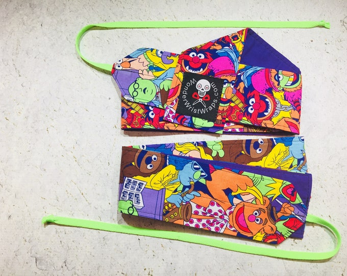 The Muppets, Wrist Wraps, WOD, Weightlifting, Athletic