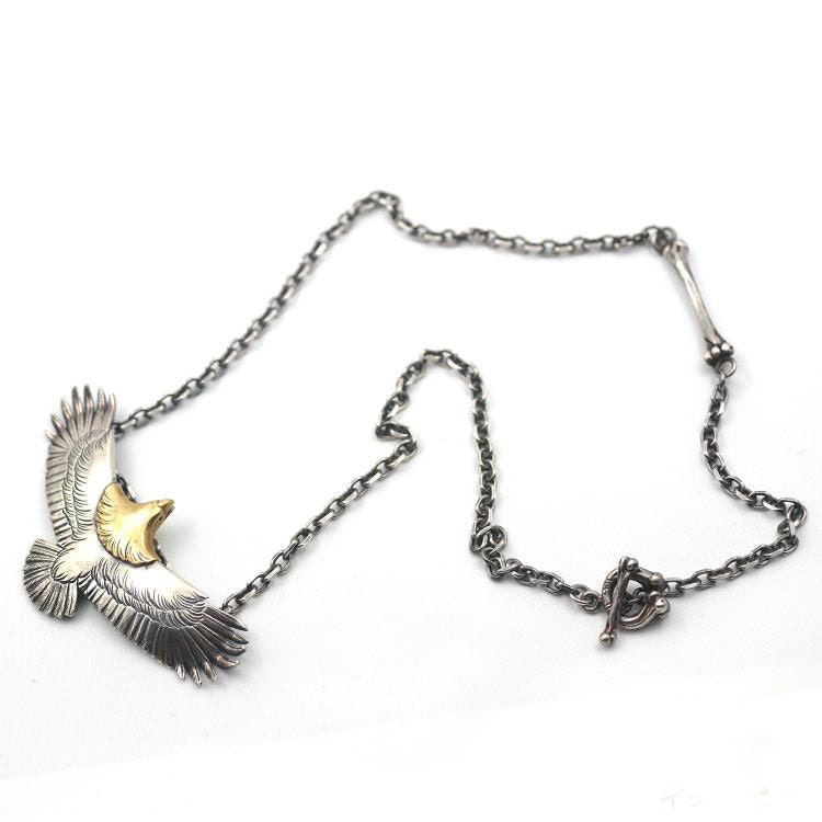 Eagle necklace silver eagle charm eagle jewelry bird necklace eagle necklace silver eagle charm eagle jewelry bird necklace 18k gold charm silver eagle pendant tribal charm necklace oxidized mozeypictures Gallery