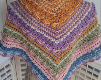 Crochet Lost in Time Scarf/Shawl