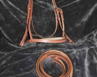 bridle leather