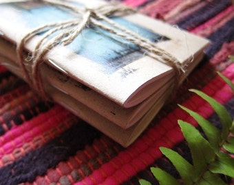 Traveler Notebooks Set of 3 Mini Pocket Diary - Chose the cover of your choice