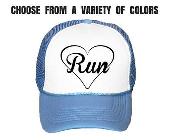 Running Hat. Marathon Hat. Run Cap. Runner Hat. Half Marathon. 13.1. 26.2. Run Love.