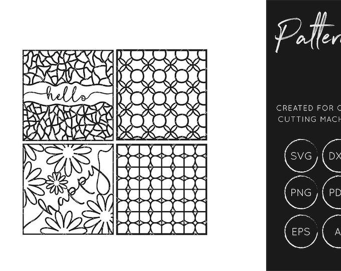 Pattern SVG, Pattern DXF