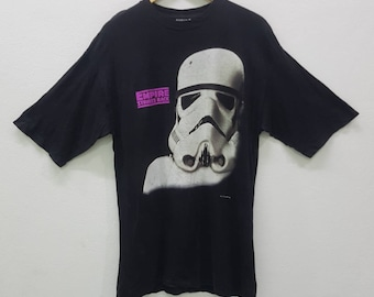 Vintage Star Wars The Empire Strikes Back 90's T-shirts Large Size