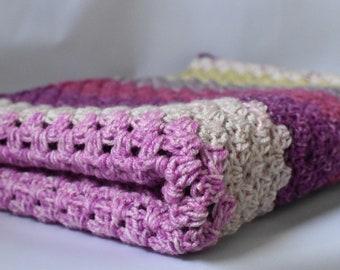 Handmade Crochet Wrap/table runner/bed runner