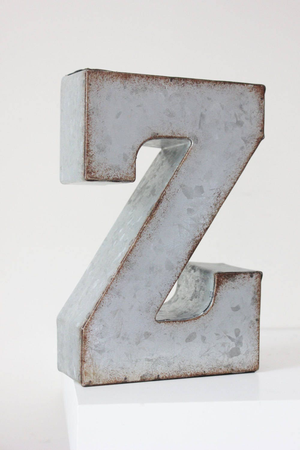 Metal Sign Letters For Sale Interesting Sale Metal Letter Alphabet A To Z Zinc Steel Initial Home Room Inspiration