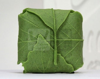 Leaf II - Handmade Silicone Soap Mold Candle Mould Diy Craft Molds