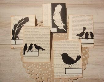 Envelopes Handmade Birds Set 1