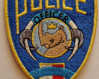 Zootopia Police Badge Patch