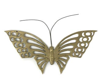 Brass Butterfly Wall Hanging