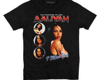 Vintage Inspired T-Shirt Throwback 90's Rap Tee I Miss You Rock The Boat Legend Princess of R&B