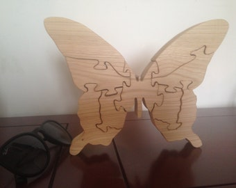 BUTTERFLY WOOD PUZZLE