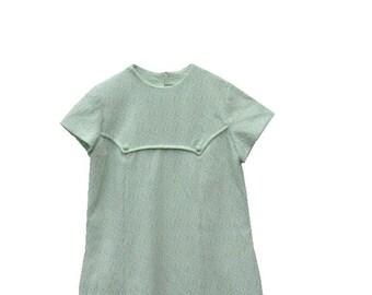 60's A Line Dress | Crimplene