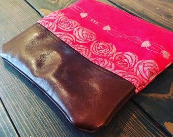 Custom Wrap Scrap foldover clutch