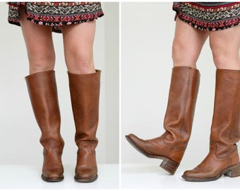 1970s Frye Campus Boots // Size 6-1/2 (6.5) to 7