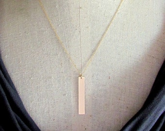 necklace gold christopher pendant is rectangular s itm image loading box gift with st chain saint