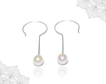 Original pearl earrings