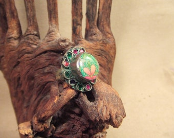 Tribal silver ring   FREE SHIPPING