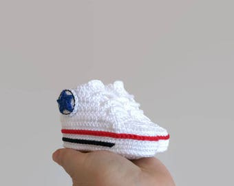 Converse shoes, converse boy, converse girl, baby booties, newborn girl booties, baby shoes boy, baby shoes crochet, athletic, boys' shoes