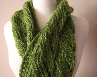 Green Chunky Cowl Pattern