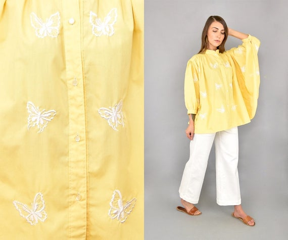 Peasant Blouse Peasant Peasant 60's Butterfly 60's Butterfly Butterfly Butterfly Blouse 60's Blouse 60's BxOAR8R