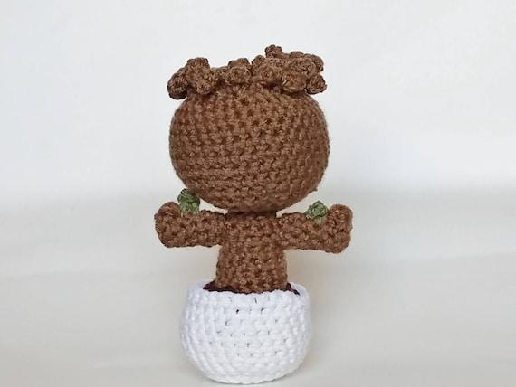 Amigurumi Patterns Groot : Amigurumi crochet baby groot