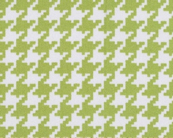 SALE Houndstooth in Lime Home Decor by Vicki Payne for Free Spirit - 1 Yard