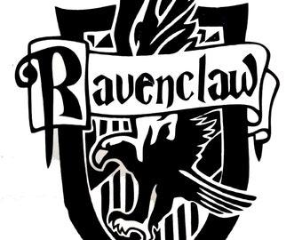 Harry Potter Ravenclaw Crest Vinyl Sticker Decal