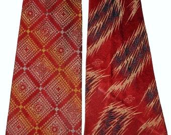 1940s Red Tie Duo Vintage Retro