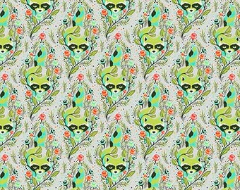 All Stars Agave Racoon by Tula Pink for Free Spirit Fabrics