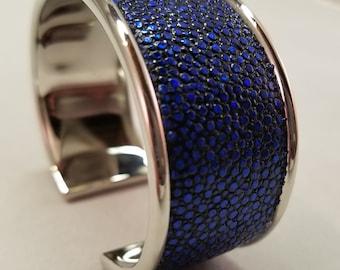 Stingray Cuff Bracelet - Royal Blue