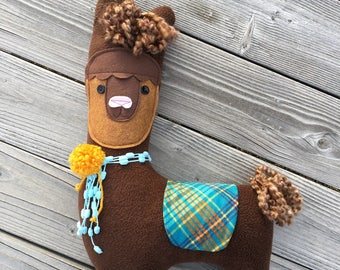 LLAMA Stuffed Animal, Alpaca Plush Toy Ready To Ship