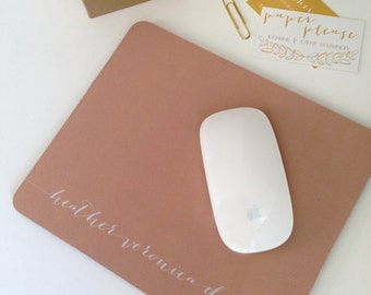Custom Mouse Pad - Personalized / Logo / Monogram